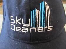 T.O.P. Sky Cleaners w/ Skyscrapers Dark Blue w/ White Baseball Cap Hat!