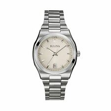 Bulova Women's 96M126 Classic Analog Display Japanese Quartz White Watch