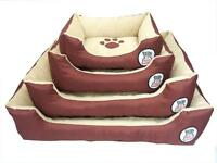 LUXURY PET DOG PUPPY CAT BED CUSHION SOFT WARM BASKET COMFY, S,M,L, XL, WARM