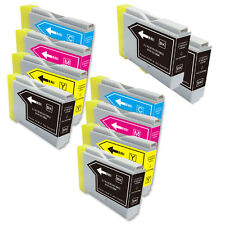 10 PK B C M Y Ink Cartridges fits Brother Series LC51 MFC 685CW 845CW 885CW