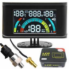 4 in 1 Car Oil Pressure Gauge/Voltmeter/Water Temp Gauge/Oil Fuel Gauge w/ Alarm