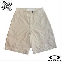 OAKLEY 'REACTOR' Pantaloncini da Uomo Khaki & Navy 71.1cm 76.2cm 81.3CM Cargo