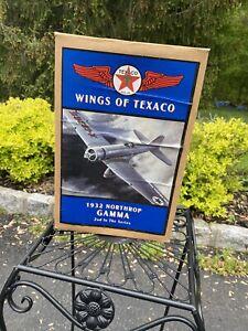 1932 Northrop Gamma Die Cast Bank - Wings of Texaco 1994 Classic Airplane