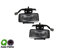 New Pair Set Fog Light Lamp Lens Housing Assembly SAE 97-01 Jeep Cherokee SUV
