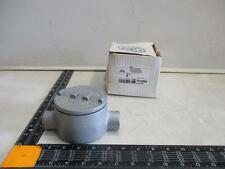 """Appleton 3/4"""" Mall Iron GR Conduit Outlet Box Explsn Dust Ignition Proof GRC75"""