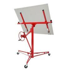 11 Drywall Rolling Lifter Panel Hoist Jack Caster Construction Lockable Tool