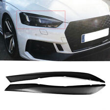 For Audi A5 S5 RS5 2017- 2018 Eyelid Eyebrows Headlight Cover 2PCS FRP