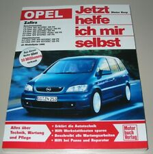 Reparaturanleitung Opel Zafira A Benzin 16V Ecotec + Diesel DTI ab 1999 NEU!