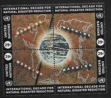 UN Scott #NY 647-50, Block of 4 1994 Complete Set FVF MNH
