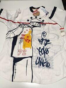 ECKO UNLTD. S/S La Marque Au Rhino Knit Shirt sz L Large Men's T Tee OOP NEW NWT