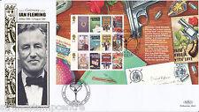 2008 James Bond FRANCOBOLLO Prestige LIBRO-BENHAM ORO (500) FUNZIONARIO