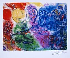 MARC CHAGALL Facsimile Signed Limited Edition Art Giclee ORPHEUS