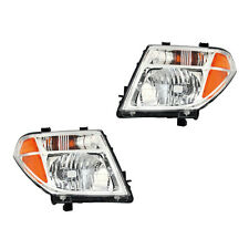 Fits 2005-2008 Nissan Frontier Pathfinder Left + Right Headlight Assembly 1 Pair