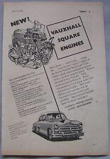1952 Vauxhall Original advert
