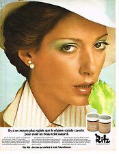 PUBLICITE  1974   CHARLES OF THE RITZ  cosmétiques