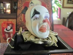 Ltd Ed 1988 Pagliacci Musical Jack-in-the-box copyright 1st in Faith Wick Series