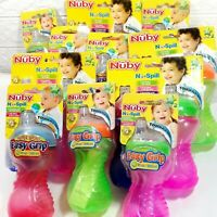 Nuby Worldwide Cup Brand No Spill Easy Grip Super Spout BPA Free Bottle Cup 6m+