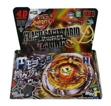 TOUPIE RAPIDITY FLASH SAGITTARIO BB126 BEYBLADE 130WD - 4D System Metal Master -