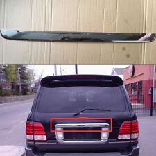 Rear Trunk Box Tail Gate Deocr Trim 1PC Chromed ABS for 2003-2007 Lexus LX470