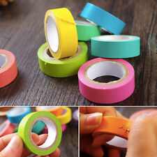 10 Rolls Sticky Post It Note Paper Memo Pad Gift Paper Tape Write Note Shredded