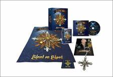 Signed RUNNING WILD Blood On Blood  BOX SET w/ cd cassette chain flag pendant ++