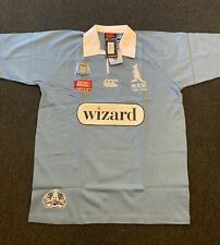 2008 Brand New NSW Blues State Of Origin Rugby Jersey LARGE Made By Canterbury