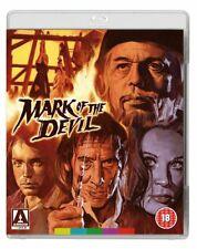 MARK OF THE DEVIL , UNCUT , BLU-RAY & DVD , ARROW VIDEO + BOOKLET REGION A,B,C