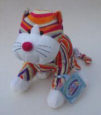 LR3 Striped Cheeky Cat WEBKINZ PLUSH new code stuffed animal ganz