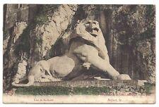 le lion  de bartholdi
