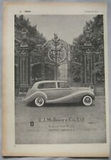 1953 H.J. Mulliner Original advert