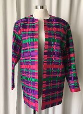 Vintage 80's   Tachi Castillo Jacket with  Satin Ribbon Small