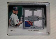 2011 Topps Johan Santana Gametime Mementos Quad Relic /199 Sick Mets Patch!