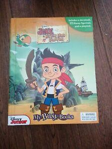 Jake And Neverland Pirates Book & Figure Set