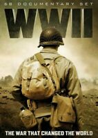 WWII: TheWar that Changed the World: 68 Documentary Set (11-DVD) NEW