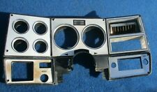1973 to 1980 Chevy Pickup Truck Dash Cluster Panel Silver w/ A/C OE GM Nice