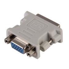 New DVI DVI-I Male 24+5 Pin to VGA Female M/F Video Converter Adapter LCD HDTV