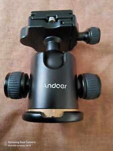 Professional camera tripod ball head