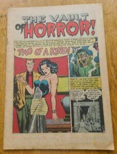 Vault of Horror #26 Nice  Coverless Copy EC
