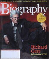 RICHARD GERE Summer 2004 BIOGRAPHY Magazine NATALIE PORTMAN / CARMEN ELECTRA