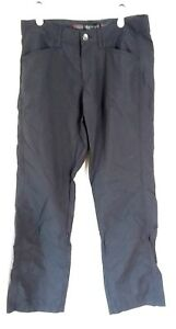 Marmot  Stretch Dark Gray Quick Dry Hiking Outdoors Roll Up Pants Size 8