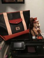 Dooney And Bourke Black Leather Raiders Tote NWT