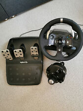 - Logitech G920 - Racing Wheel, Pedals + gearstick - Uk Plug - Xbox One and PC -