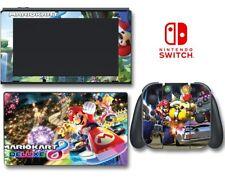 Mario Kart 8 Moto MARIOKART DELUXE JEU decal revêtement Pour NINTENDO Switch