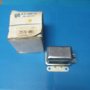 NOS K-D Lamps 2576-001 Universal HEAVY DUTY Turn Signal Flasher Relay 12V 12S