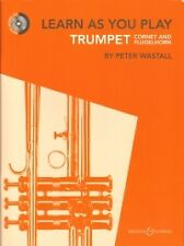 LEARN AS YOU PLAY TRUMPET Book & CD Wastall
