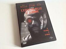 L'ESERCITO DELLE 12 SCIMMIE Bruce Willis Madeleine Stowe Brad Pitt DVD