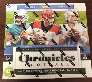 2020 PANINI CHRONICLES FOOTBALL NFL HOBBY BOX SEALED NEW - HERBERT BURROW RC?