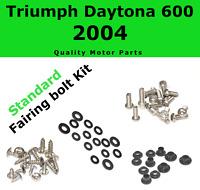 Fairing Bolt Kit body screws fastener for Triumph Daytona 600 2004 Stainles