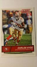 NFL Trading Card Carlos Hyde San Francisco 49ers Score 2016 Panini