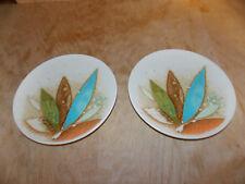"""RARE MIKASA Indian Feast """"FANTASIA"""" DE862 (2) Bread Plates BARELY USED   Japan"""